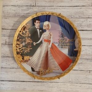 Enesco Barbie Collectors Plate Holiday Dance 1965